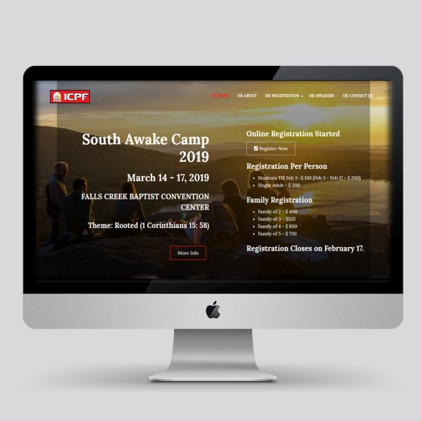 ICPF South Awake Camp 2019
