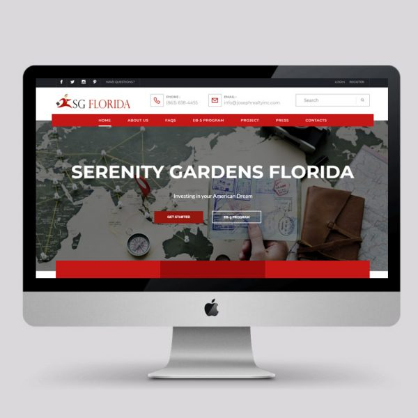 SERENITY GARDENS FLORIDA
